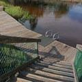 One of the swimming docks.- Turkey Creek Park