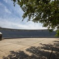 The amphitheater, located near the main park office.- First Landing State Park