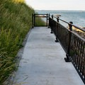A path to the sea at Fort Sewall.- Fort Sewall