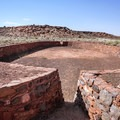 One of the ball courts at Wupatki National Monument.- Wupatki National Monument