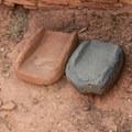 Grinding stones.- Wupatki National Monument