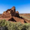 Wupatki Pueblo.- Wupatki National Monument