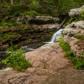 Van Campens Glen Waterfall. A close hike and great place to relax if you're staying at the campground. - Worthington State Forest Campground