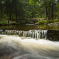 The mill waterfall is just the start.- George W. Childs Park Trail