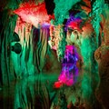 Rainbow Lake.- Shenandoah Caverns