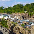 The falls drop 76 feet in less than a mile.- Great Falls Park