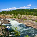 There are over 20 waterfalls in the main falls area.- Great Falls Park