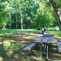 Picnic area.- Great Falls Park