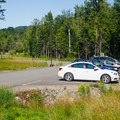 Parking is very close to the trailhead.- Cobble Hill