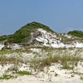 One of the famous dunes.- Gulf Islands National Seashore