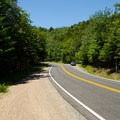 Aside form the small parking area, there is plenty of roadside parking available.- Cobble Lookout