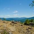 The view as you emerge from the trail.- Cobble Lookout