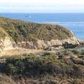 The Ohlone Trail runs along the bluffs over Three Mile Beach.- Three Mile Beach