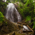 40-foot Stag Brook Falls is the star attraction of this trail.- Stag Brook Trail