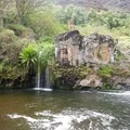 This deep pool provides a solid spot for cliff jumping. - Lonomea via the Kukui Trail