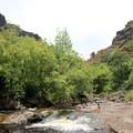 Smaller slide adjacent the campsite.- Lonomea via the Kukui Trail