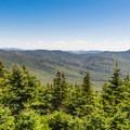 View across the White Mountains. - Mount Tecumseh