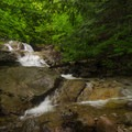 Each waterfall here seems to have its own personality.- Stag Brook Trail