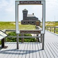 The Life Saving Station.- Race Point Beach