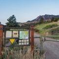Trailhead.- Eldorado Mountain