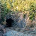 First train tunnel.- Eldorado Mountain