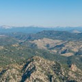 Close-up of the Continental Divide.- Eldorado Mountain