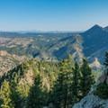 On the way down the North Ridge.- Eldorado Mountain