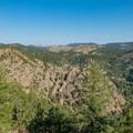 Viewpoint looking west.- Eldorado Mountain