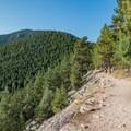 Rattlesnake Gulch Trail.- Eldorado Mountain