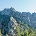 Shirttail Peak from the south.- Eldorado Mountain