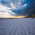 Storm moving out looking north.- Fort Walton Beach