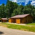 Restrooms in Loop 3.- Whitten Park Campground