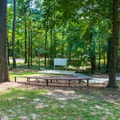 Small amphitheater.- Whitten Park Campground