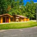 Restrooms in Loop 2.- Whitten Park Campground