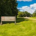 Park entrance signage.- Whitten Park Campground