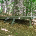 Tent platform sites are also available.- AMC's Cardigan Campsites