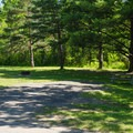Thompson's Lake Campground.- Thompson's Lake Campground