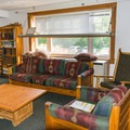 Library/multi-purpose room downstairs.- AMC's Cardigan Lodge