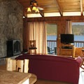 The interior of the Waterfront House at Loon Lake.- Loon Lake Waterfront House