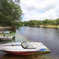 The spring is accessible from the Suwannee River and has space available to tie up watercraft.- Troy Spring State Park