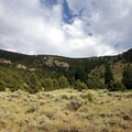 One of the views along the trail.- Pole Canyon Trail