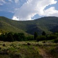 A view near the end of the trail.- Pole Canyon Trail