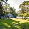 A open field near Grew's Pond at Goodwill Park.- Goodwill Park