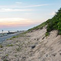 Sand dunes at Herring Cove Beach.- Herring Cove Beach