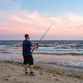 Fishing on Herring Cove Beach.- Herring Cove Beach