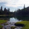 Creek that feeds into Teresa Lake.- Alpine Lakes Loop