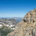 Nearing the summit ridge.- Mount Reynolds Summit