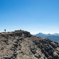 Almost at the summit!- Mount Reynolds Summit