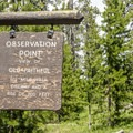 Start of the Observation Point Trail.- Observation Point