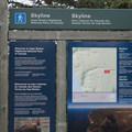 The Skyline Trailhead.- Skyline Trail